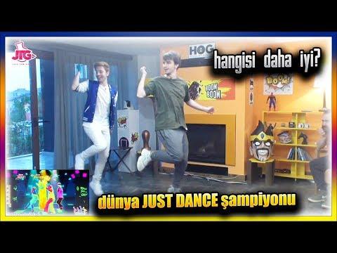 BERKCAN GÜVEN JUST DANCE DÜNYA ŞAMPİYONUYLA KAPIŞIYOR HOG Boom Boom Ünlüleri vs