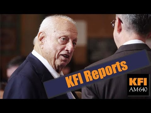 KFI Reports - L.A. City Council Honors Tommy Lasorda for his 90th birthday