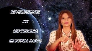 REVELACIONES DE SEPTIEMBRE SEGUNDA PARTE #Septiembre #Apocalipsis #Profecías #Predicciones