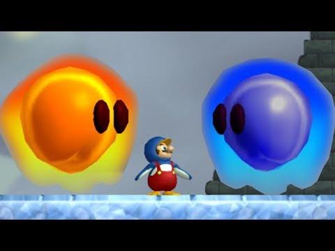 Newer Super Mario Bros Wii Walkthrough - Part 5 - Freezeflame Glacier