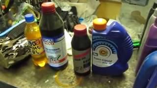 Какое масло лить в редуктор на скутере.(, 2014-02-14T17:17:08.000Z)