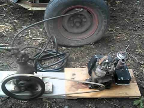 Antique Air Compressor for Sale on Ebay - YouTube