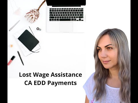 Lost Wages Assistance Payments, $300 Boost/extra Payment CA EDD. How To See If You Received $300 PUA