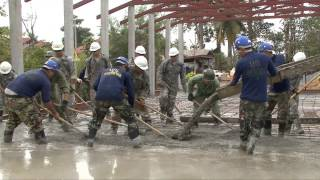 Ban Hau Wang Krang Elementary School upgrade, part of Exercise Cobra Gold 2013, Jan  28