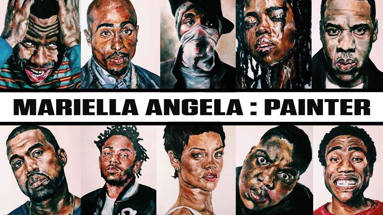 Hip Hop Art Paintings
