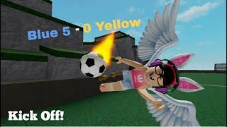 Blau 5-0 Gelb / Roblox Fußball (Fußball) Xbox One Gameplay! (8) (Mit Beschriftungen)