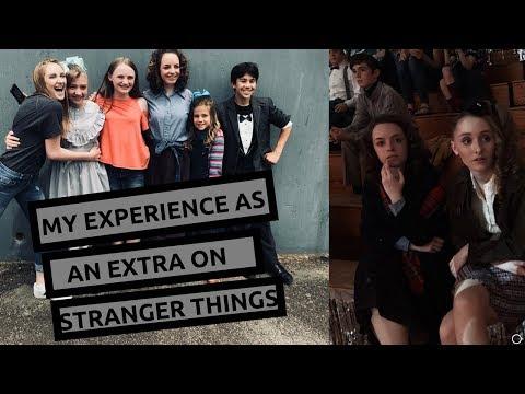 My experience as an extra on Stranger Things and the mileven kiss!!!!