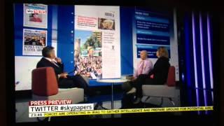 Sky News cover Vicky