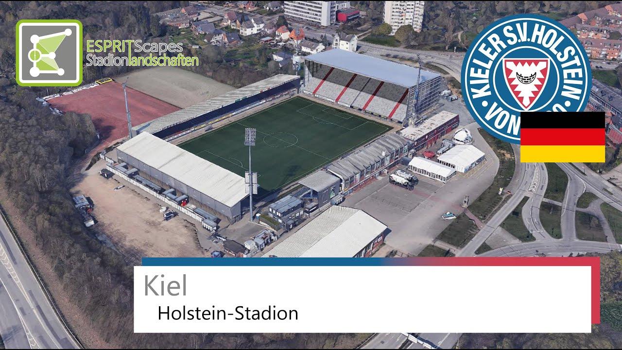 Holstein Stadion Holstein Kiel Google Earth 2019 Youtube