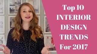 Interior Design Trends 2017