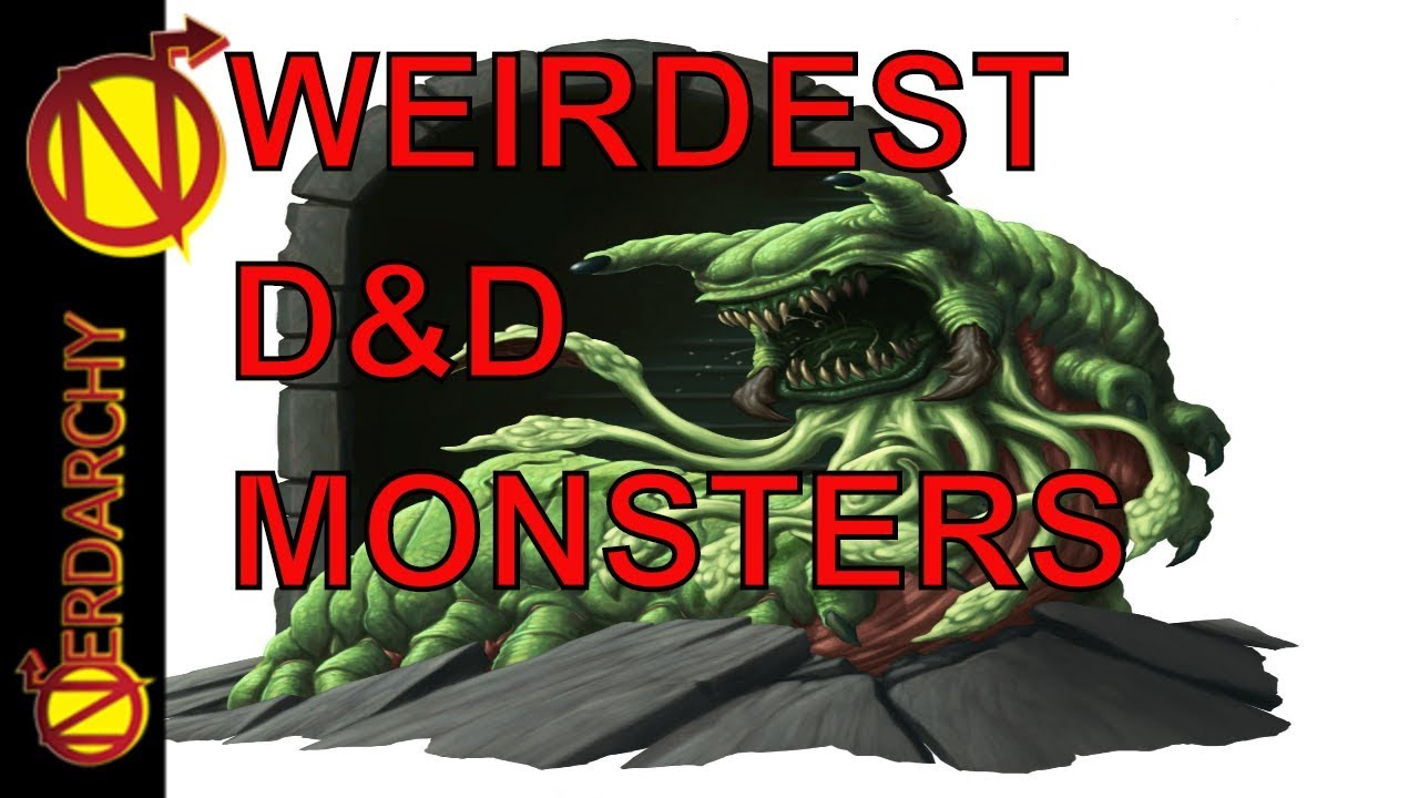 Weirdest D D Monsters Let S Talk About Them And The Wizards That