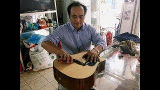 Hướng dẫn thay dây đàn  acoustic guitar_Dung classic