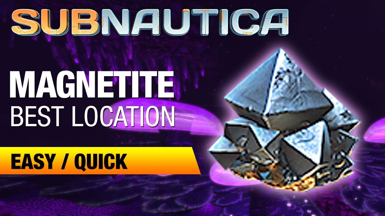 Best Location For Magnetite Subnautica Youtube I tried adding them but it's really not clear if it made a difference or not. best location for magnetite subnautica