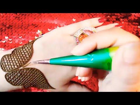 Simple and easy mehndi design tutorial #688