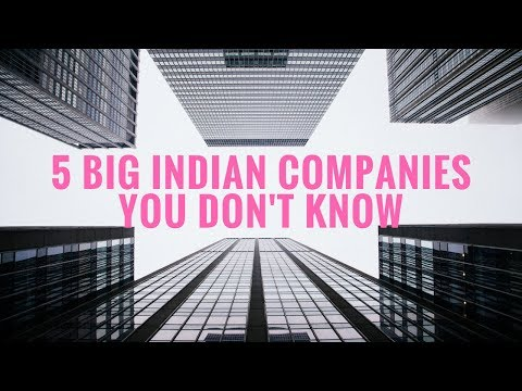 5 Big Indian Companies You Do Not Know
