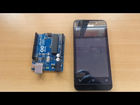 Connect Arduino With Your Smartphone: To get Arduino Code for this project visit the link below: http://vigneshrajaece.blogspot.in/2015/05/get-started-with-bluetooth-module-and.html