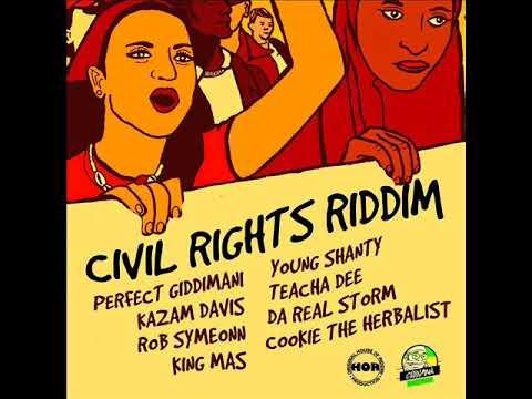 Civil Rights Riddim Mix (Full) Feat. Perfect Giddimani, King Mas, Teacha Dee (January 2018)