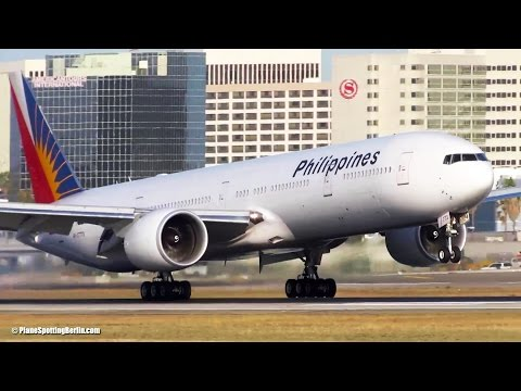 BUSY DAY Planespotting - Afternoon Heavies at Los Angeles (LAX) A380, 747, .. + GO AROUND! [Full HD]