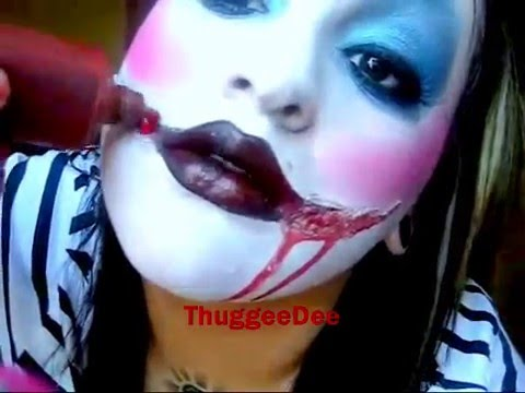 Killer clown makeup