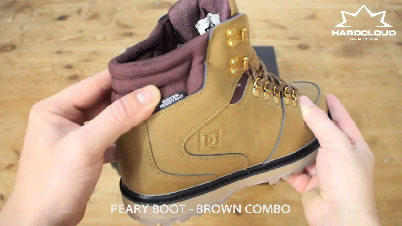DC Peary Boot close look - YouTube