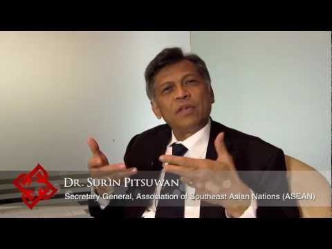 Executive Focus: Surin Pitsuwan, Secretary General, ASEAN (1/2)
