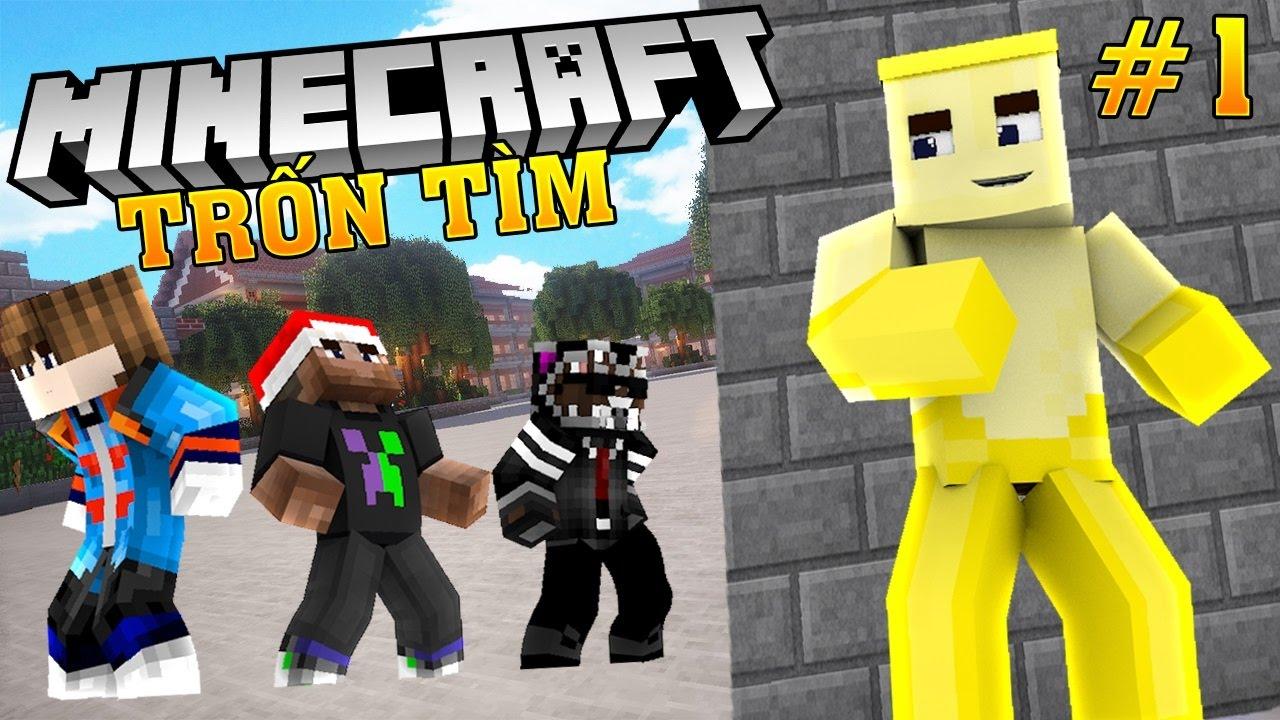 Oops Club Minecraft Trốn Tìm – Tập 1: GIỜ RA CHƠI BỔ ÍCH