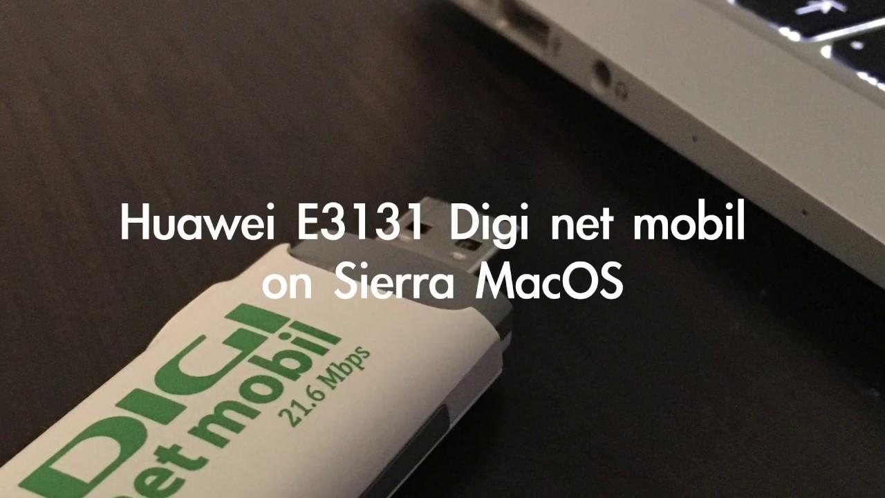 instalare digi net mobil pe mac