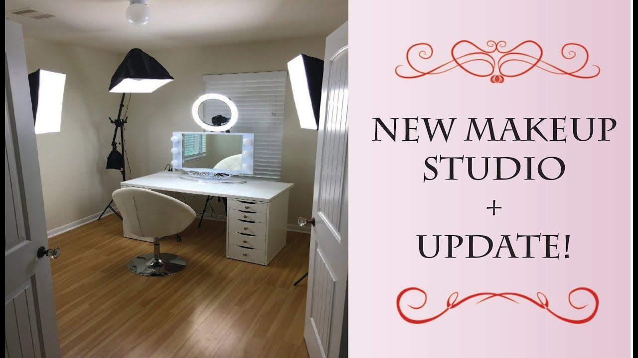 new makeup studio amp update   youtube