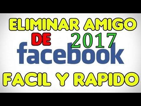 Como Eliminar Todos los amigos de facebook Fácilmente 2017