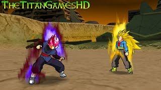 Dragon Ball Z Shin Budokai 2 Mods - Black Goku Ssj Pink Vs Trunks Ssj3