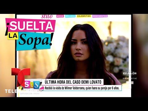Wilmer Valderrama visitó a Demi Lovato en el hospital | Suelta La Sopa | Entretenimiento