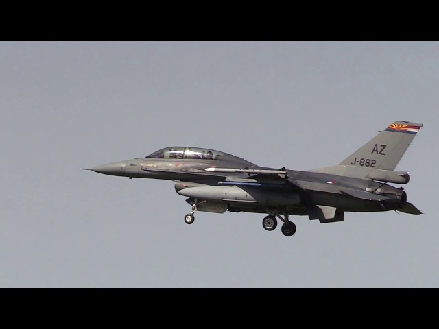 Aankomst FF18 NED F16 J-882 Arizona