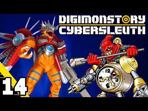Digimon Story: Cyber Sleuth Part 14 RizeGreyMon & ClockMon! PS4 Gameplay Walkthrough