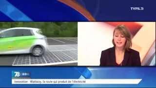 Innovation : Wattway, la route qui produit de l'électricité