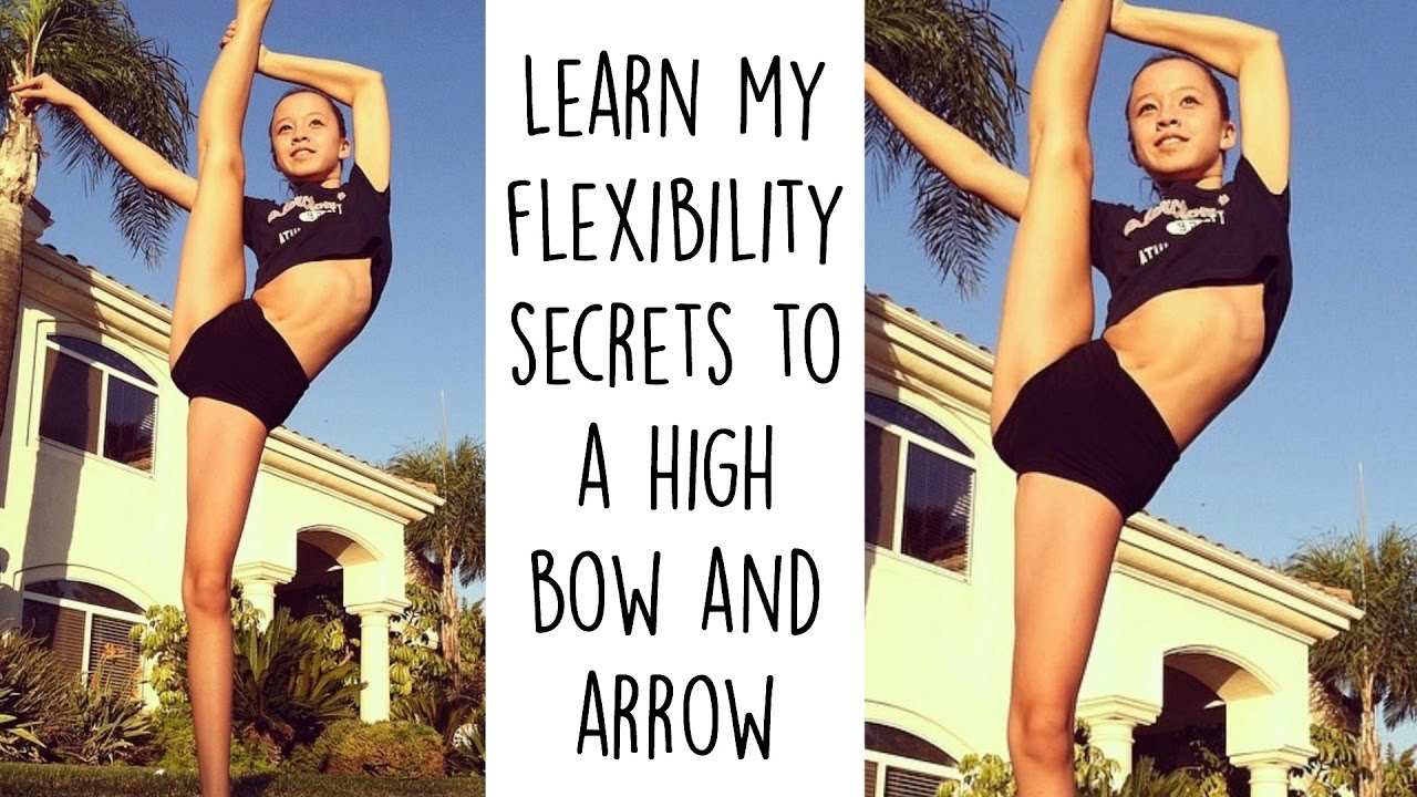 how to do a bow and arrow in dance