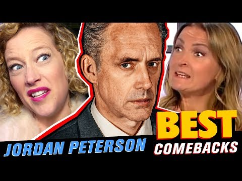 JORDAN PETERSON: BEST COMEBACKS | 2018