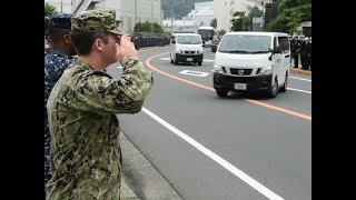 Raw: US Navy Honors Sailors Killed in Collision