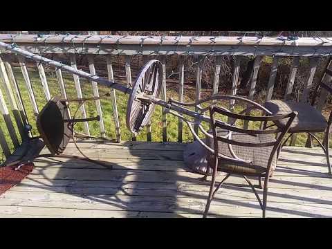 RIP Fanimation Torrento on my patio (thanks, wind)