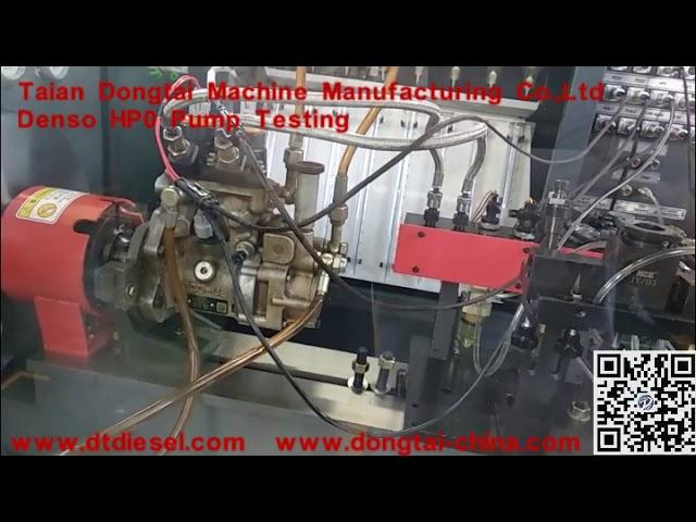 Denso HP0 Pump Testing