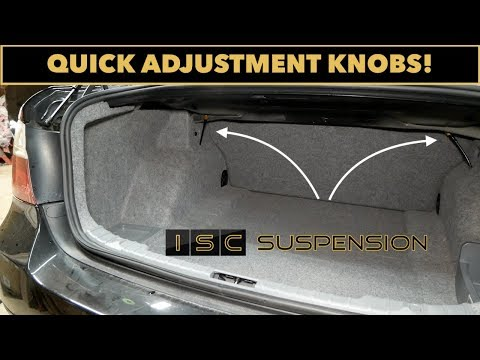 ISC Coilover Adjustment Extenders // All BMW Models