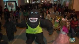 Se Llevaron a  Gorila de la Tinka Viudas de don Calixto Recordando Carnaval Tarmeño