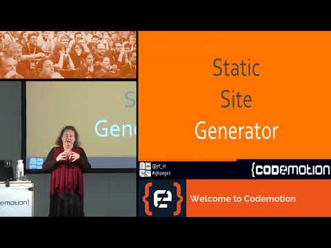 Promote your open source project with GitHub Pages - J. Reinders Folmer - Codemotion Milan 2017