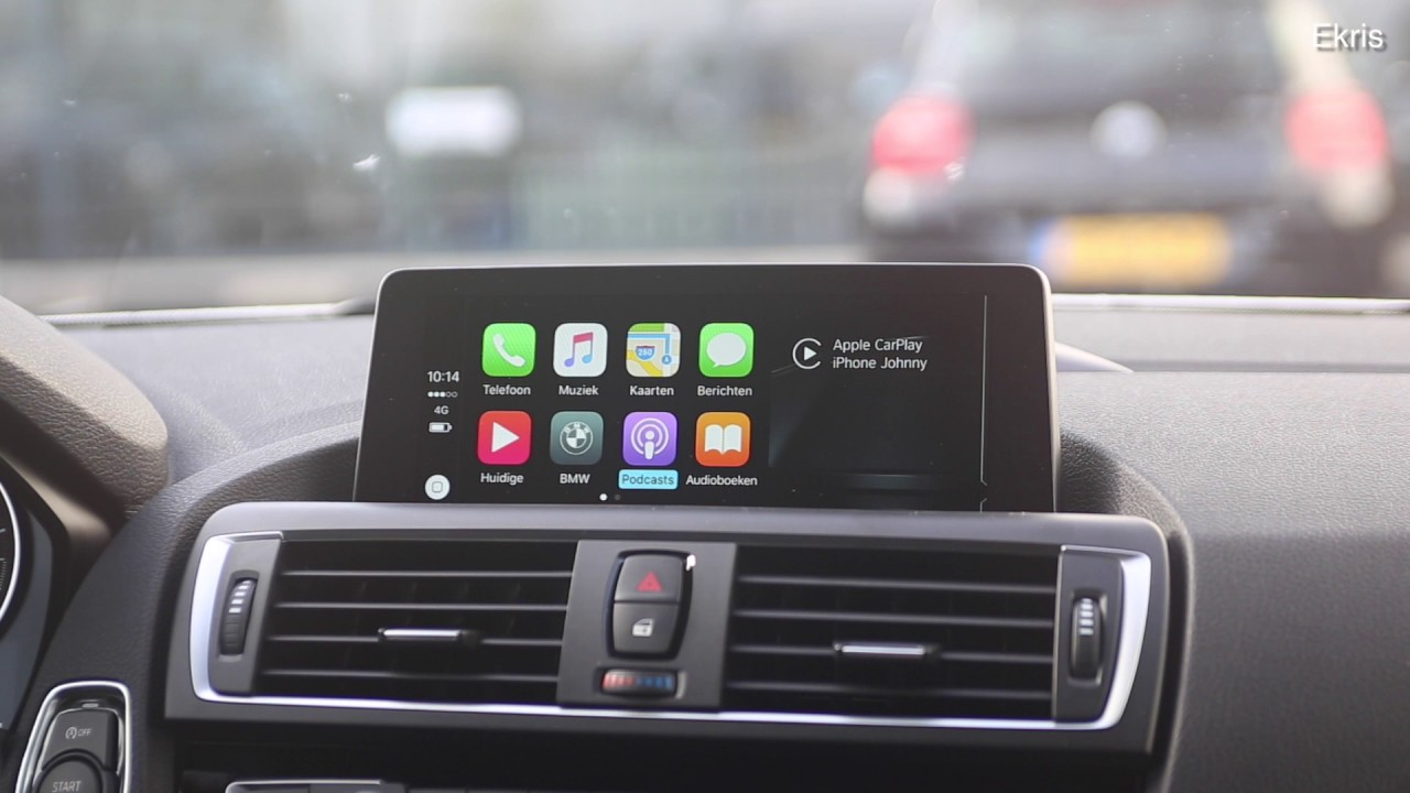 Demonstratie En Instructie Apple Carplay In Uw Bmw Youtube