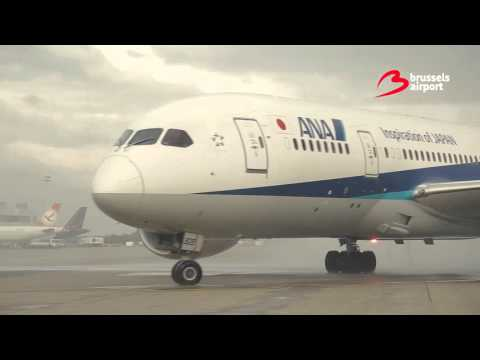 Inaugural flight All Nippon Airways