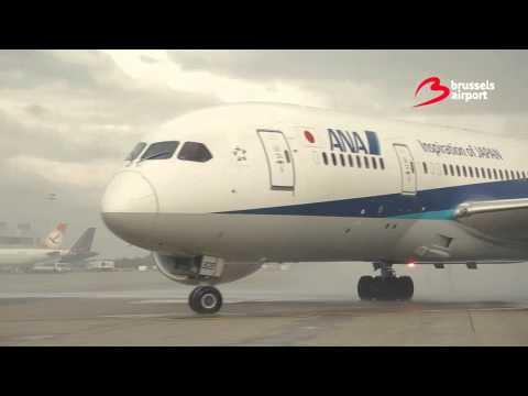 Inaugural flight All Nippon Airways