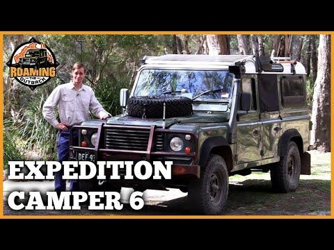 Land Rover Defender Expedition Camper Upgrade Part 6