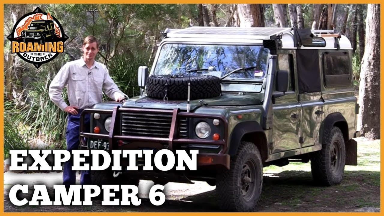 Land Rover Defender Expedition Camper Upgrade Part 6 Youtube