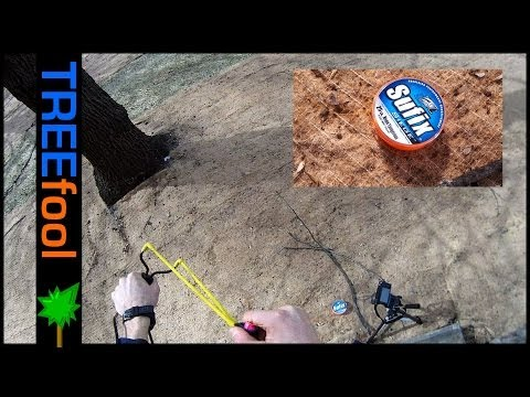 HOW TO - cheap throw line slingshot