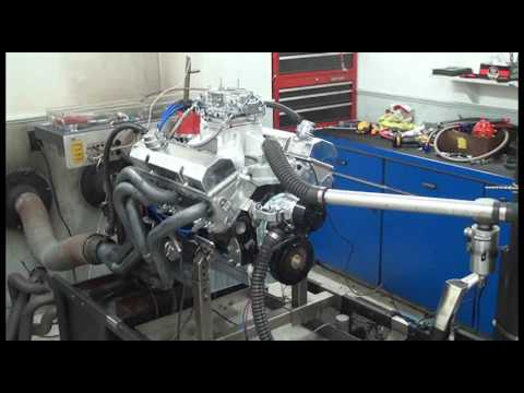 SBC 647HP 427 ENGINE DYNO RUN FOR CHARLES BAKER BY WHITE PERFORMANCE AND MACHINE