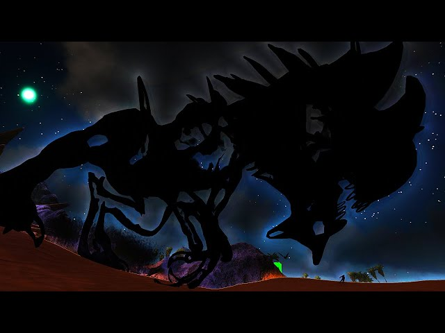This GOD Dinosaur Traps You in a NEVER ENDING NIGHTMARE!   ARK O-MEGA Modded #108